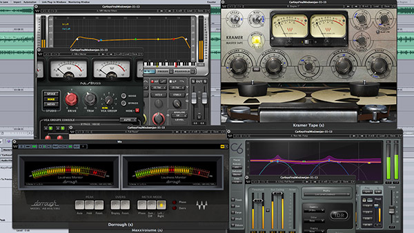 Mastering stereo